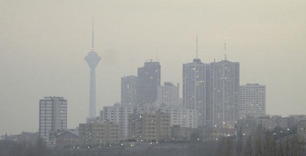 تداوم آلودگی هوا تا پایان هفته در کشور