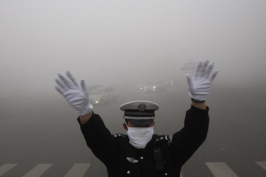آلودگی هوا!