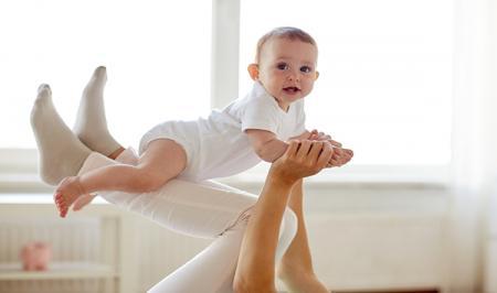 تمرینات ورزشی مادر و کودک