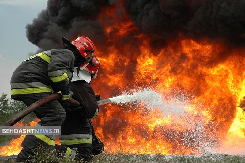 جزییات حادثه در داروخانه 29 فروردین از زبان سخنگوی آتشنشانی
