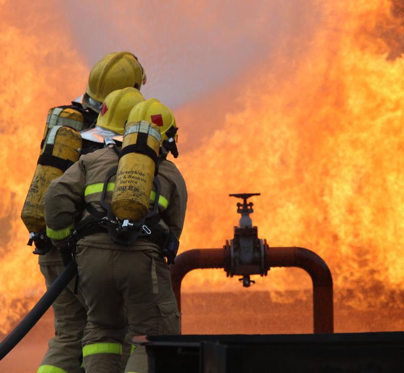 آتشسوزی در خیابان دانشگاه جنگ