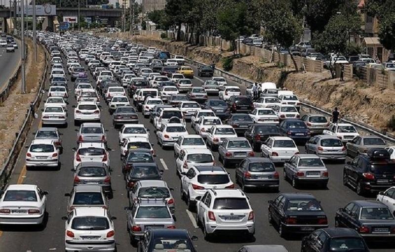 مسافران نوروزی در ترافیک بازگشت