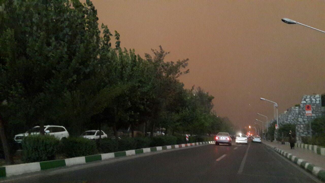 هشدار؛ طوفان در راه تهران است