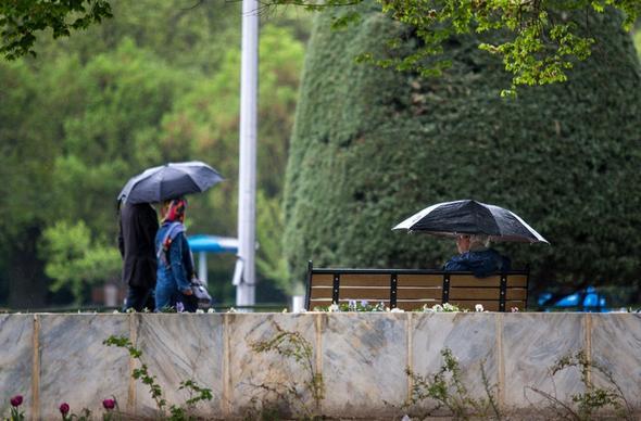 بارش باران در ۱۸ استان کشور