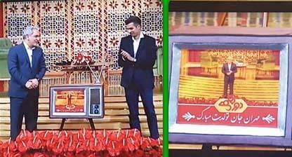 جشن تولد «مهران مدیری» با حضور عادل فردوسی پور + عکس