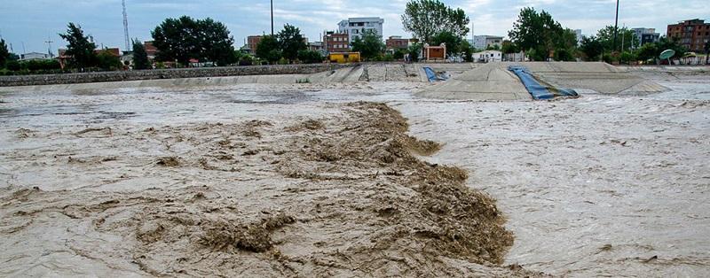 هشدار هواشناسی درباره سیلابی شدن رودها