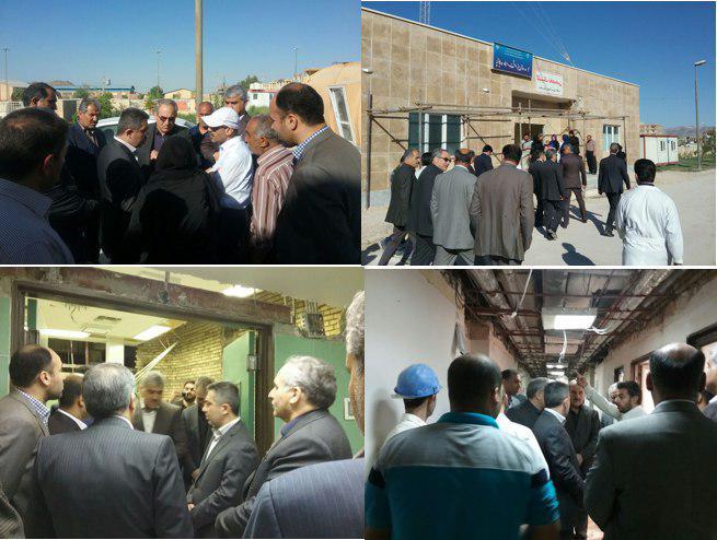 سفر دکتر جان بابایی به مناطق زلزله زده کرمانشاه+عکس