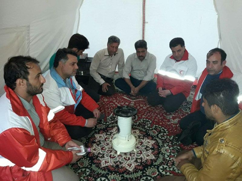 حمایت روحی و روانی از زلزلهزدگان کرمانشاه همچنان ادامه دارد