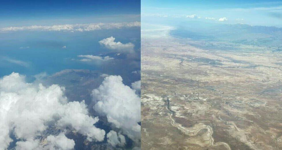 تفاوت دریاچه ارومیه و دریاچه وان ترکیه + عکس