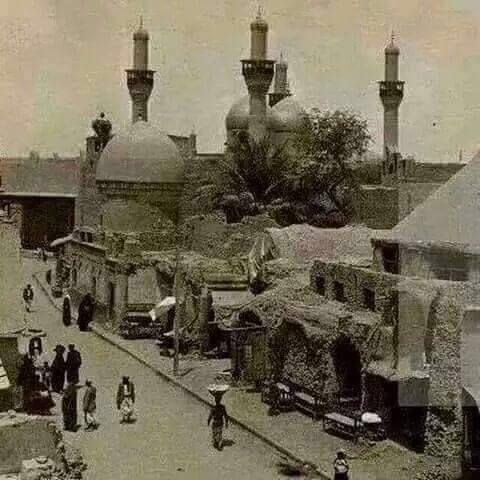 حرم امام موسی کاظم (ع) در قدیم + عکس