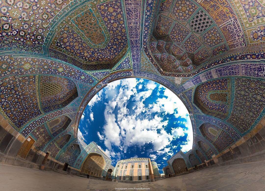 تصویری فوقالعاده از شاهکار معماری ایران