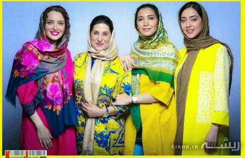مانتوهای متفاوت سوپر استارهای زن ایرانی (+عکس)