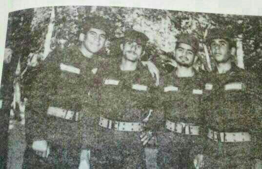 عکس منتشر شده از دوران سربازی رئیس جمهور
