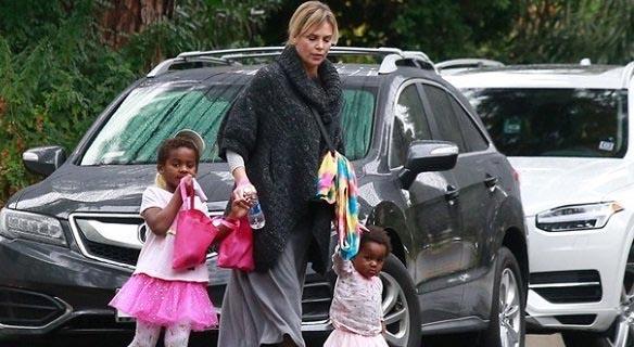 مهاجرت خانم بازیگر از آمریکا به خاطر فرزندانش + عکس