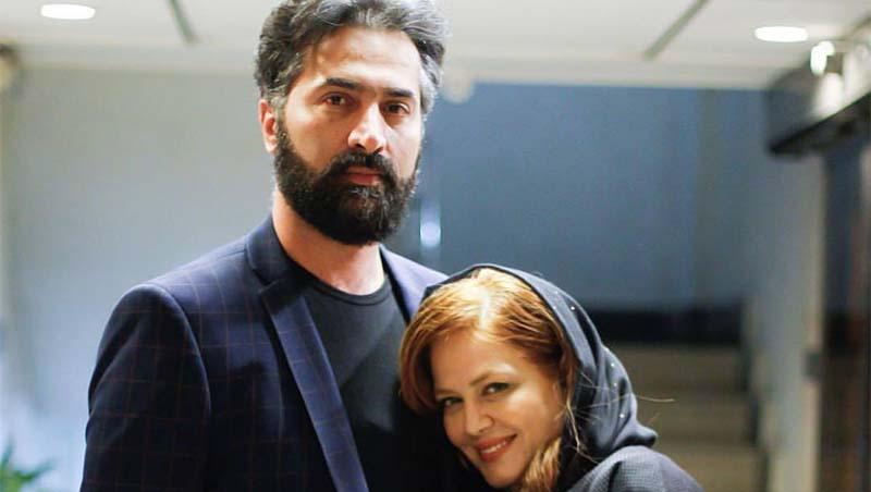 تیپ بهاره رهنما و همسرش در سالگرد عارف لرستانی + عکس