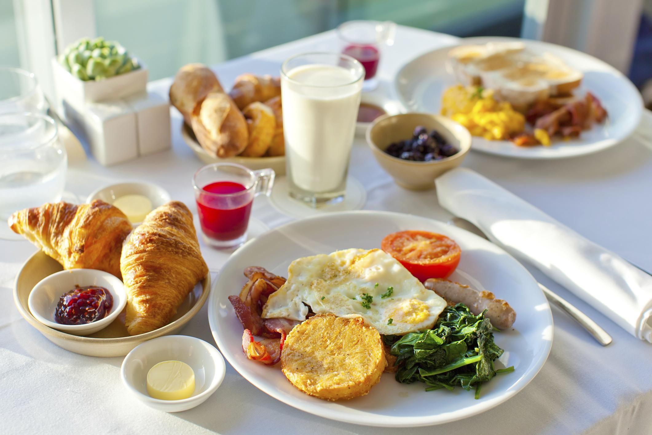 صبحانه نخورید تا چاق شوید
