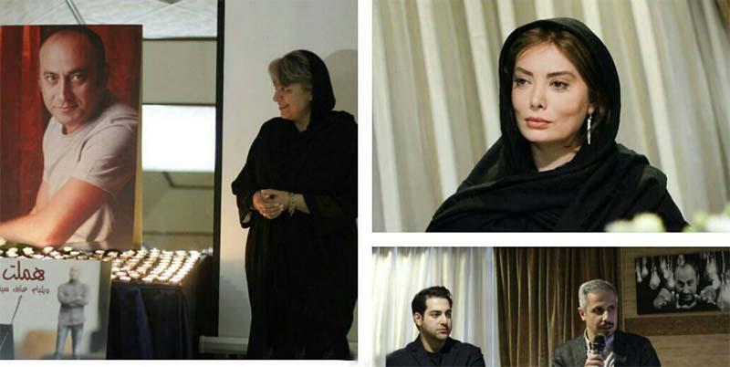 پوشش خانم های بازیگر در سالگرد مرحوم عارف لرستانی + عکس