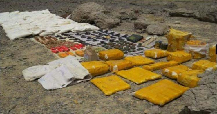 کشف تجهیزات تروریستی توسط وزارت اطلاعات + عکس