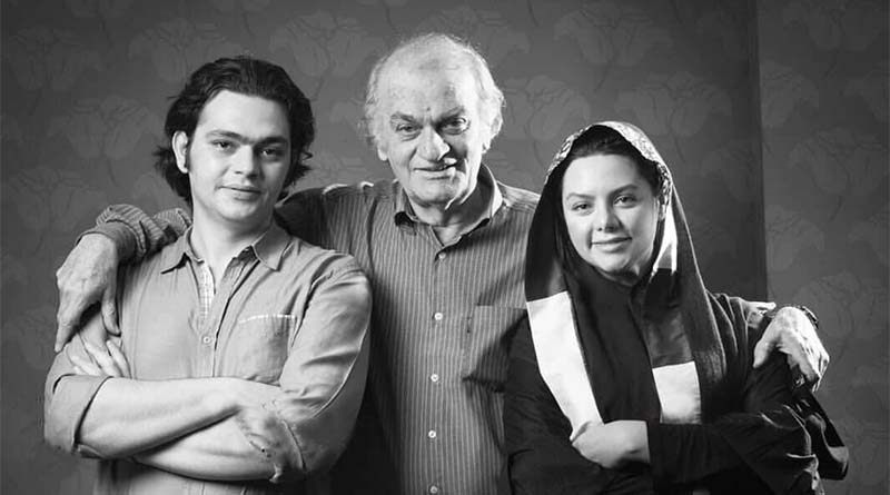 «فتحعلی اویسی» در کنار دختر و پسرش + عکس