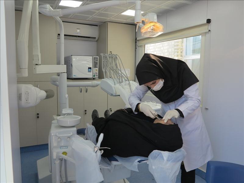 بهره برداری از کلینیک های دندانپزشکی در ۲۴۷ نقطه دور افتاده