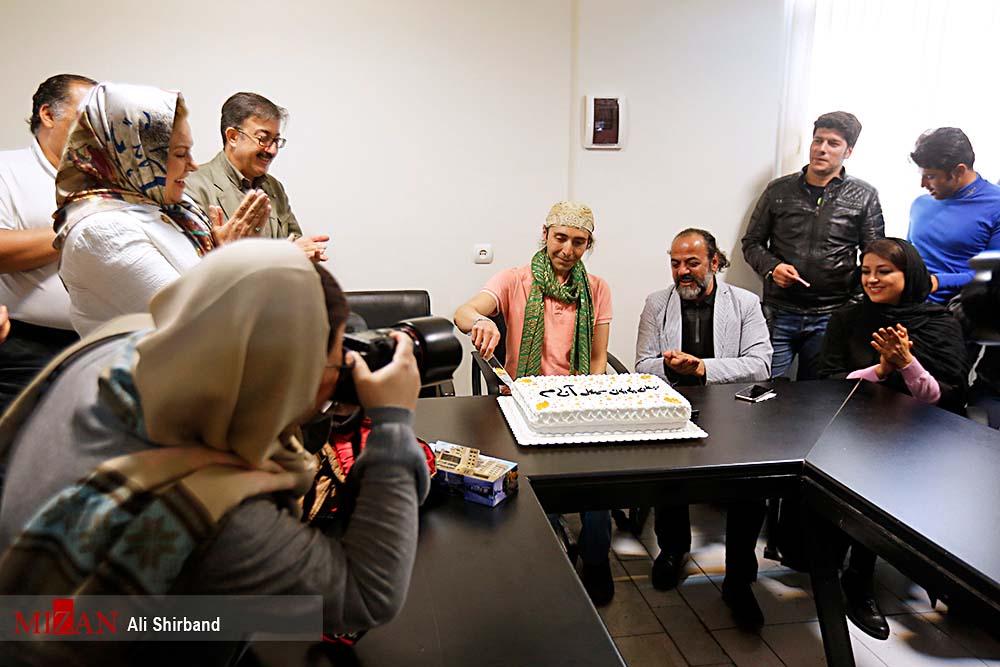 عوامل سریال «آنام» در یک جشن + تصاویر