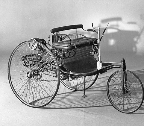 اولین اتومبیل ساخته شده مرسدس بنز + عکس