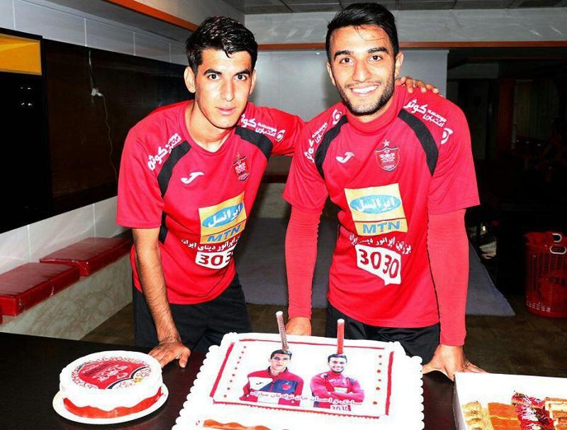 جشن تولد سیامک نعمتی و احسان علوانزاده +عکس