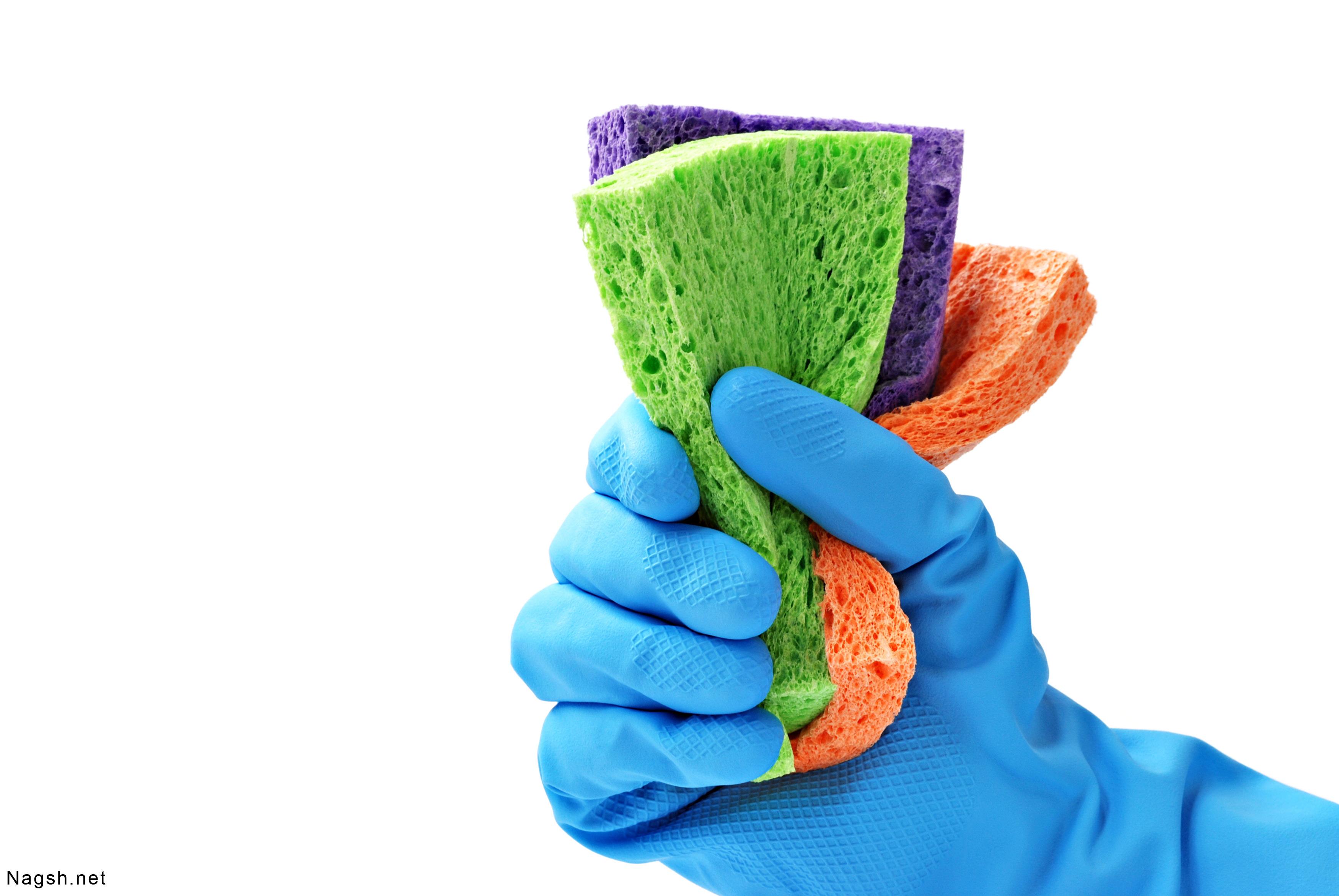 هرگز بدون دستکش ظرف هایتان را نشویید