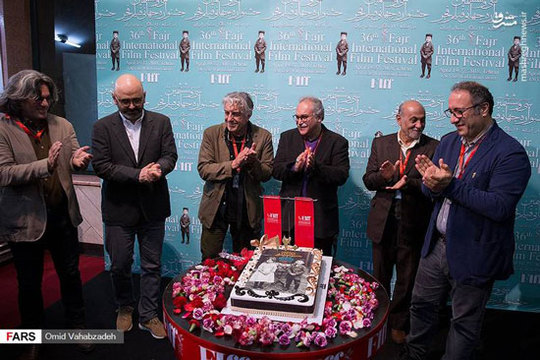 کیک تولد ۱۲۰ سالگی سینمای ایران + عکس