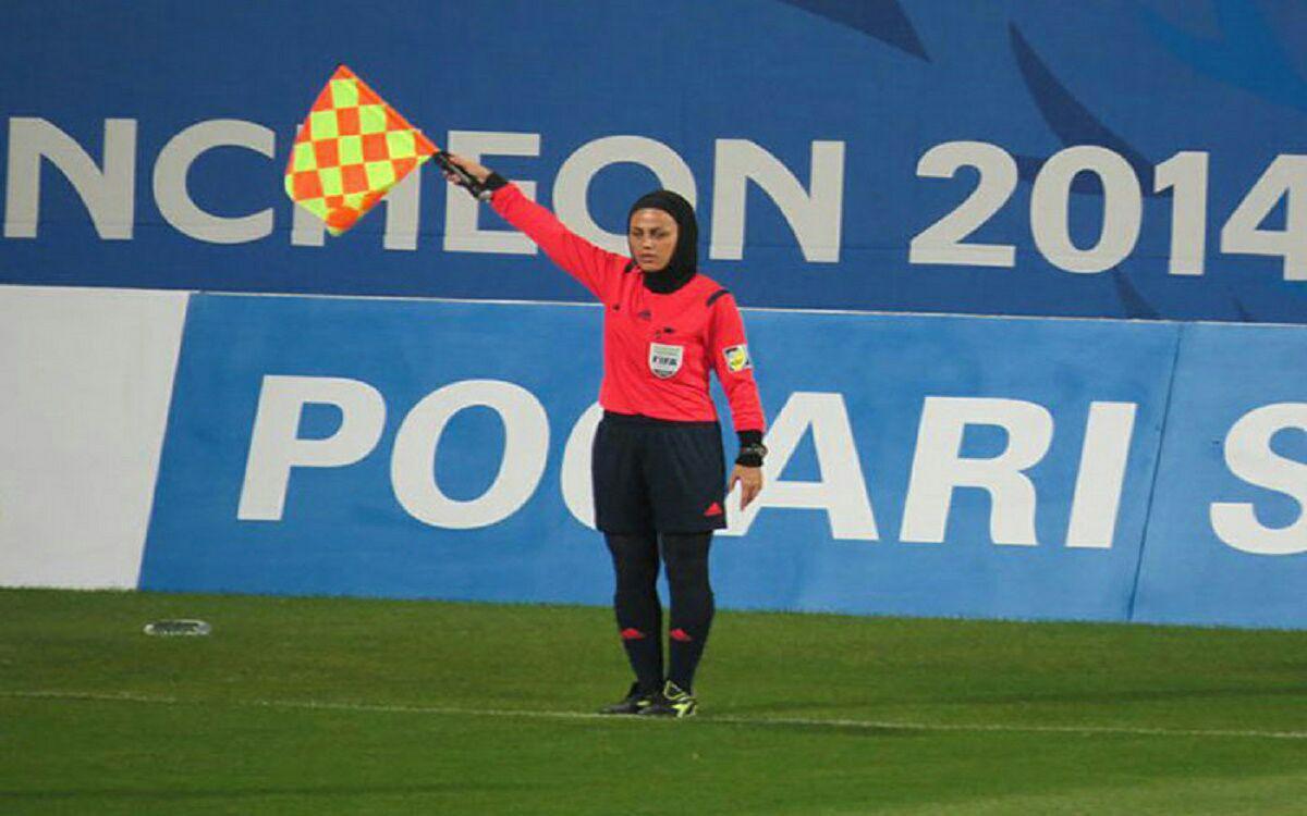 قضاوت بانوی ایرانی در ردهبندی جام ملتهای آسیا + عکس