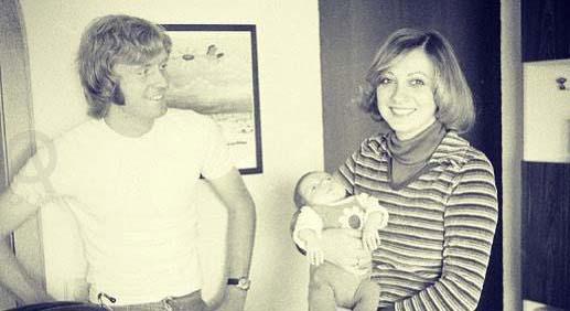 وینفرد شفر به همراه همسر و دخترش در سال های دور + عکس