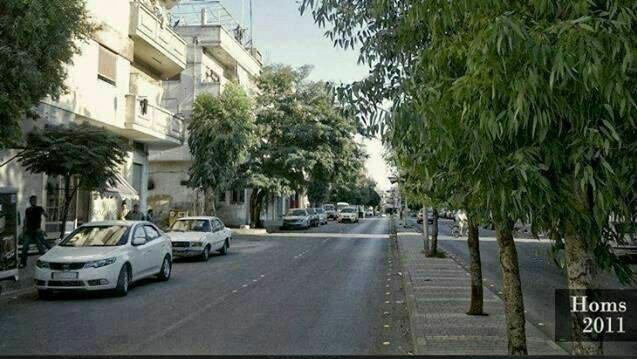 عکسی باورنکردنی از شهر حمص در سوریه