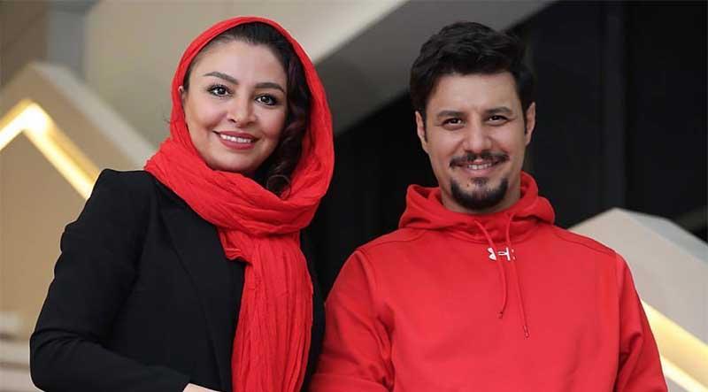 تیپ ست شده جواد عزتی و همسرش + عکس