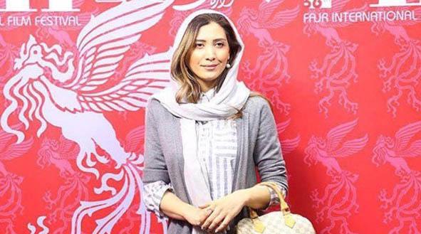 تیپ متفاوت نیکی مظفری دیشب در جشنواره فیلم فجر + عکس