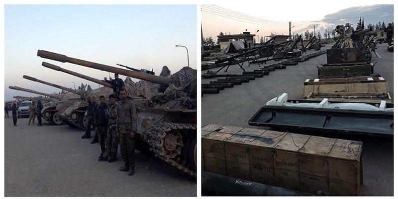 سلاح های سنگین نیروهای داعش در سوریه + عکس