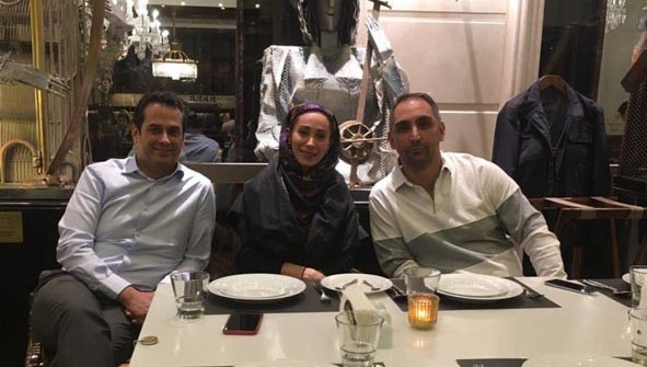 سحر زکریا دیشب در یک رستوران لوکس + عکس