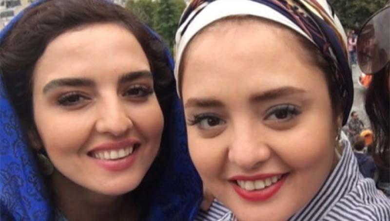 شباهت جالب نرگس محمدی و خواهرش + عکس