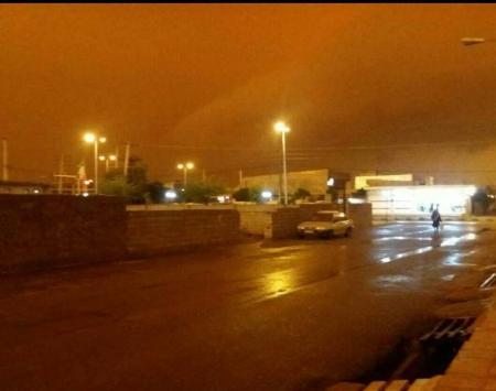 ظهر در خوزستان تبدیل به شب شد! + عکس