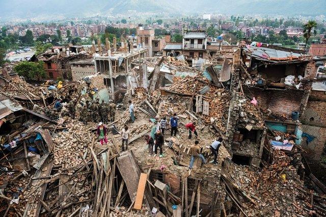 مرگ ۱۲۸ هزار نفر بر اثر بلایای طبیعی  سالانه در جهان