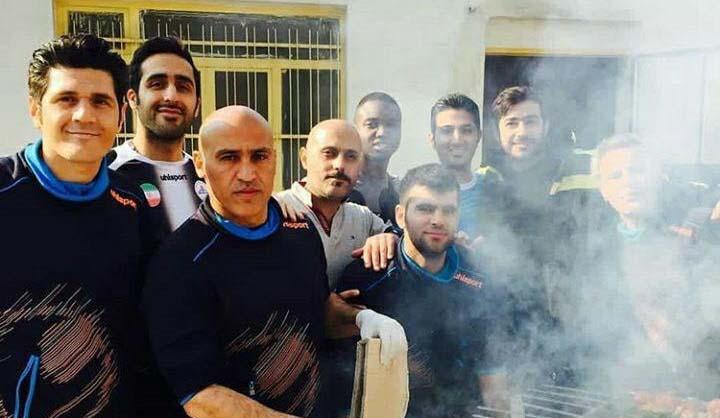 علیرضا منصوریان در حال خوشگذرانی + عکس