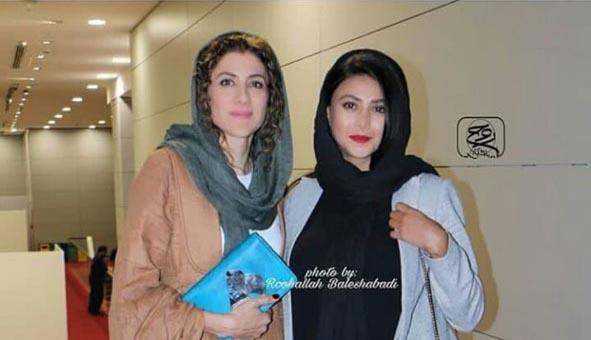 پوشش عجیب آزاده صمدی در جشنواره فجر! + عکس