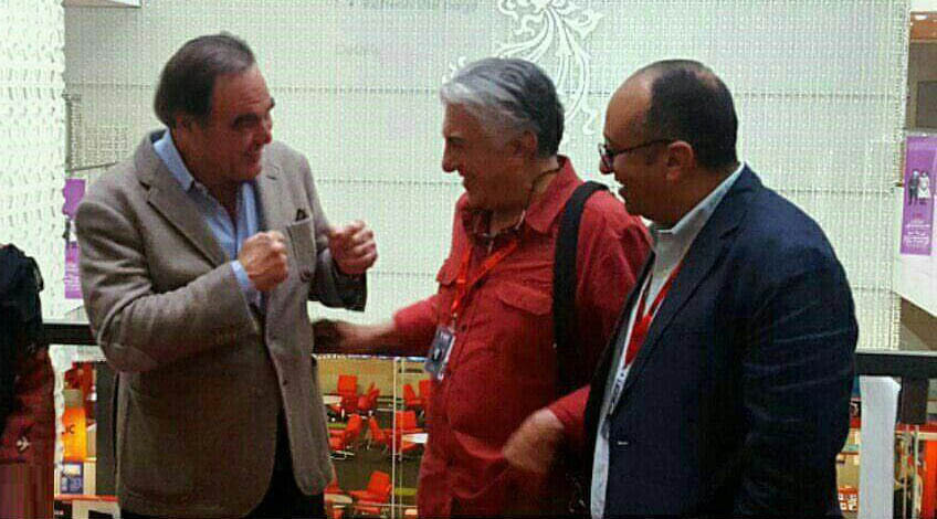 الیور استون در تهران (عکس)