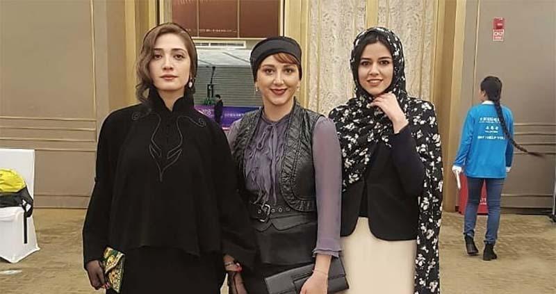 پوشش بازیگران زن ایرانی در خارج از کشور + عکس
