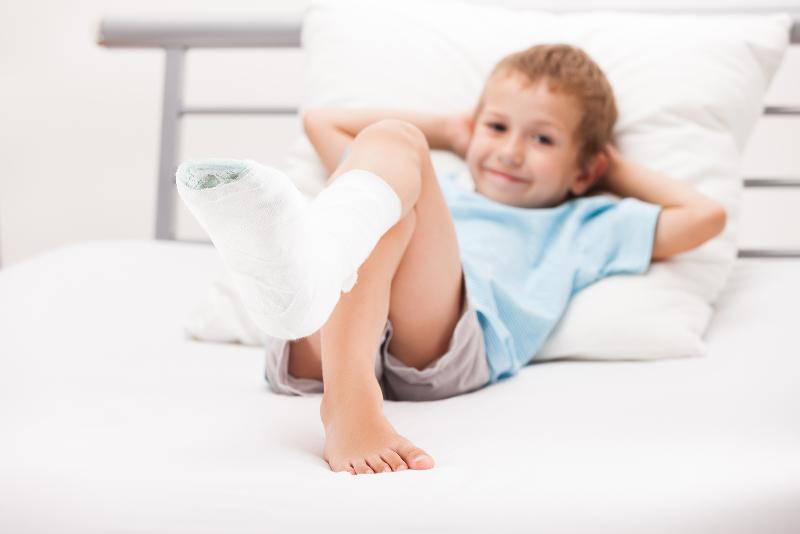 رابطه مستقیمی میان فصل بهار و شکستگی استخوان کودکان