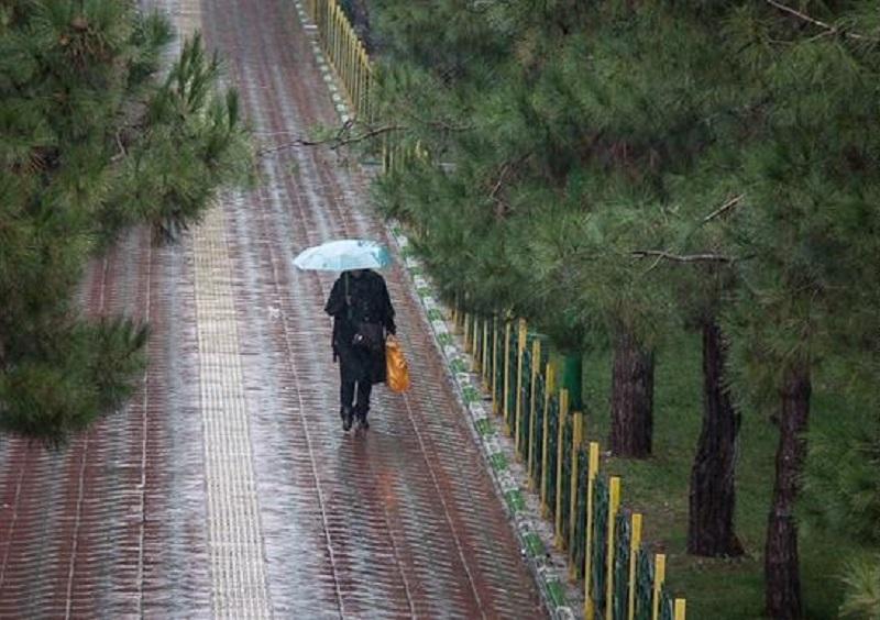 سامانه بارشی فعالی وارد کشور میشود، آخر هفته بارانی برای تهران