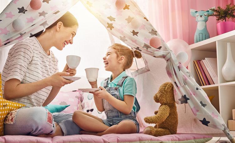 اینفوگرافیک/ چگونه یک مادر شاد باشیم؟
