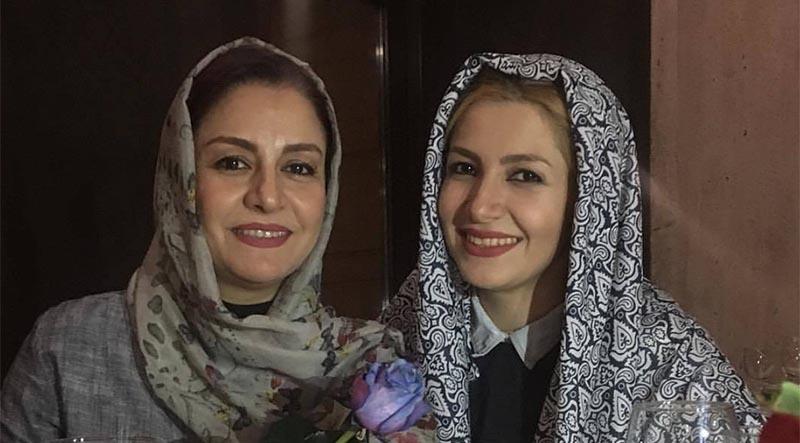 تصویر منتشر شده از جشن تولد ملیکا زارعی (عکس)