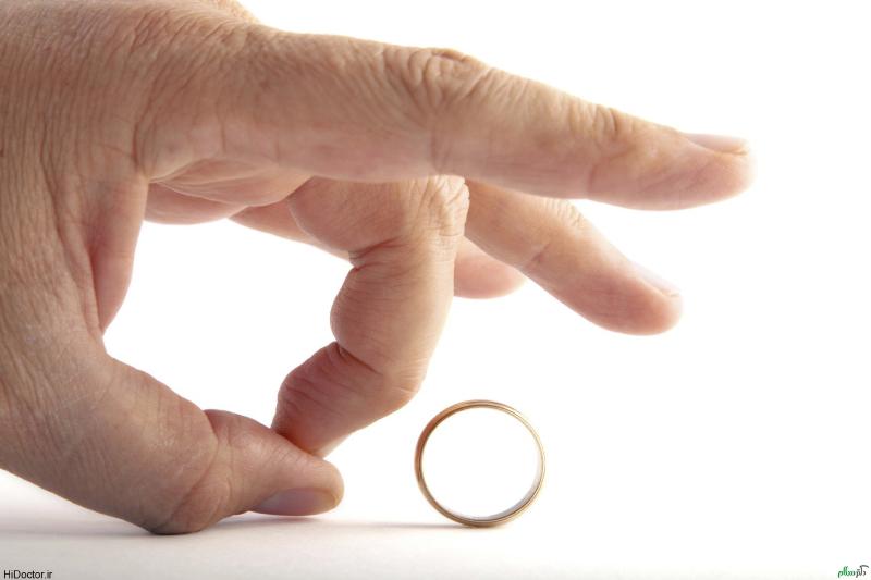۳۷ درصد طلاق ها در سال اول ازدواج رخ میدهد