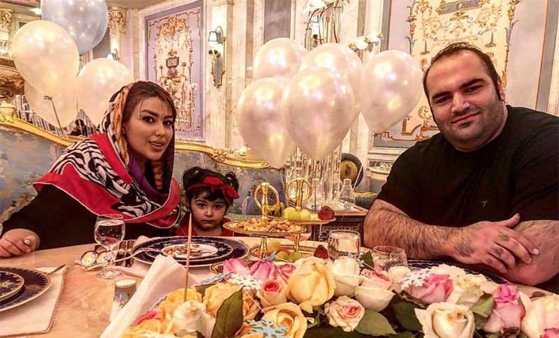 شام رمانتیک بهداد سلیمی و همسرش + عکس