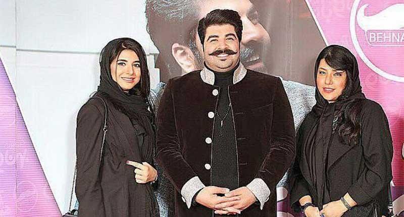 تیپ همسر شهاب حسینی دیشب در یک کنسرت + عکس